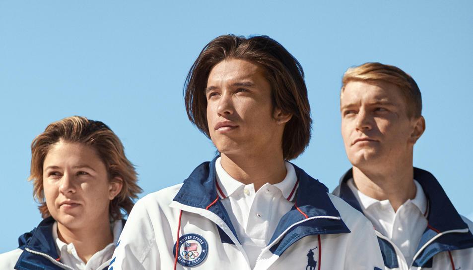Un dels uniformes que vestiran els atletes americans.