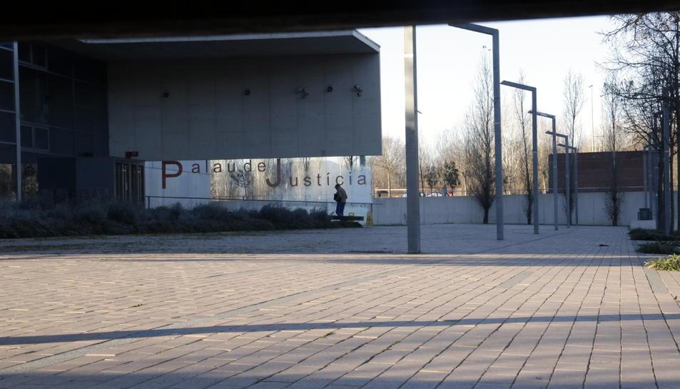 Imatge d'arxiu del Palau de Justícia de Girona.