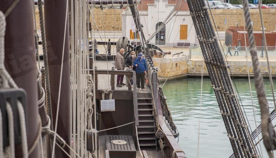 Atraca a Tarragona el galió espanyol del segle XVII Andalucía