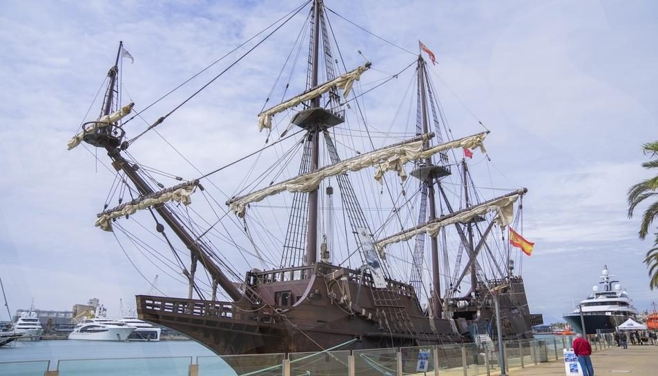 Atraca al port de Tarragona el galió Andalucía. Els ciutadans podran visitar-lo de 10 a 20 hores fins al diumenge 25 d'abril