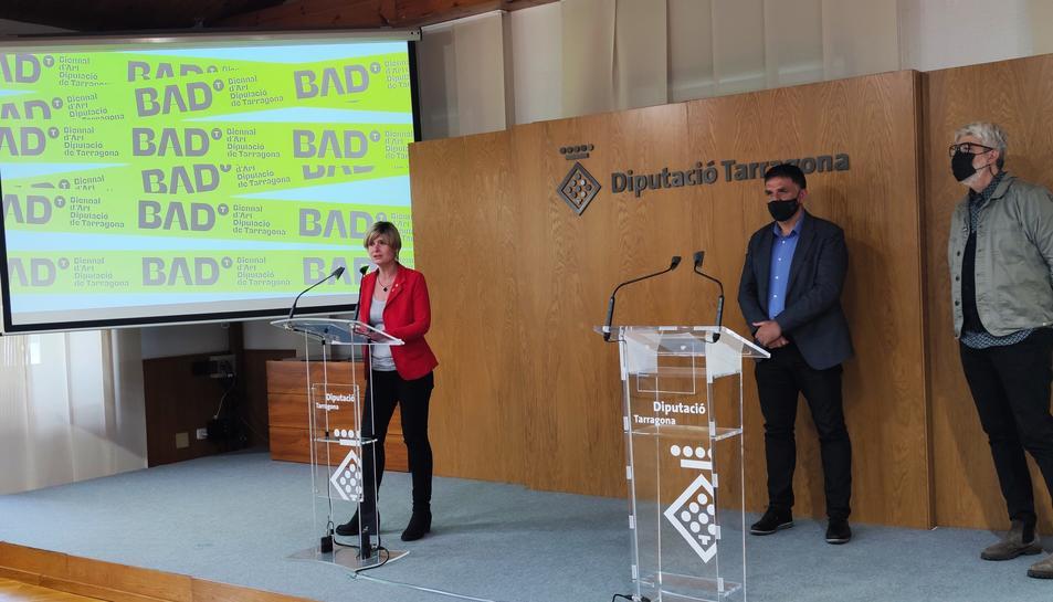 Imatge de la presentació de la Biennal d'Art.