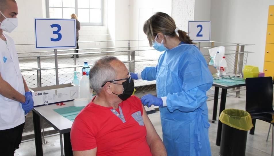 El procés de vacunació de la primera dosi ha augmentat al territori.