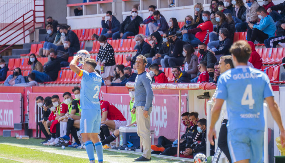 L'entrenador del Nàstic, Toni Seligrat.