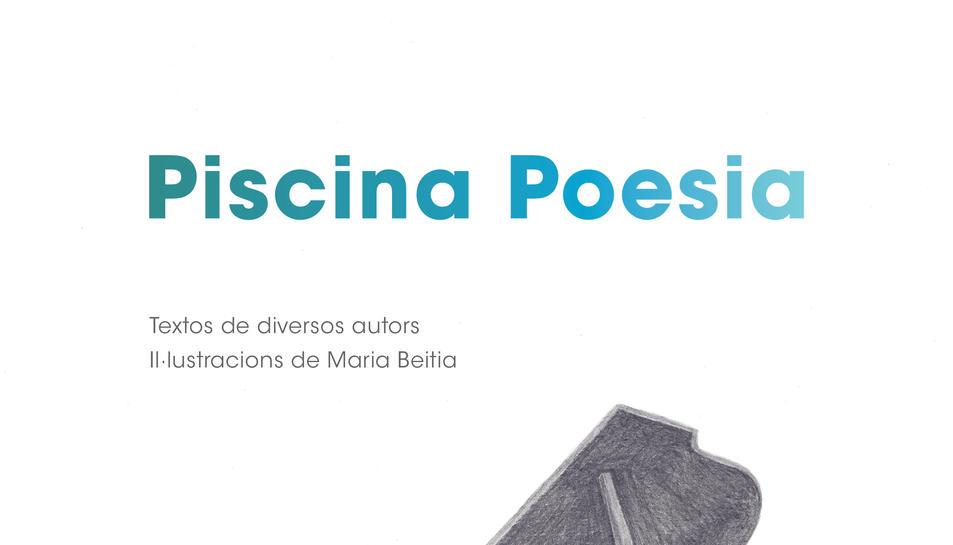 Coberta del llibre 'Piscina Poesia'