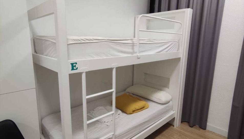 Les lliteres on dormien alguns sensesostre de Tarragona.