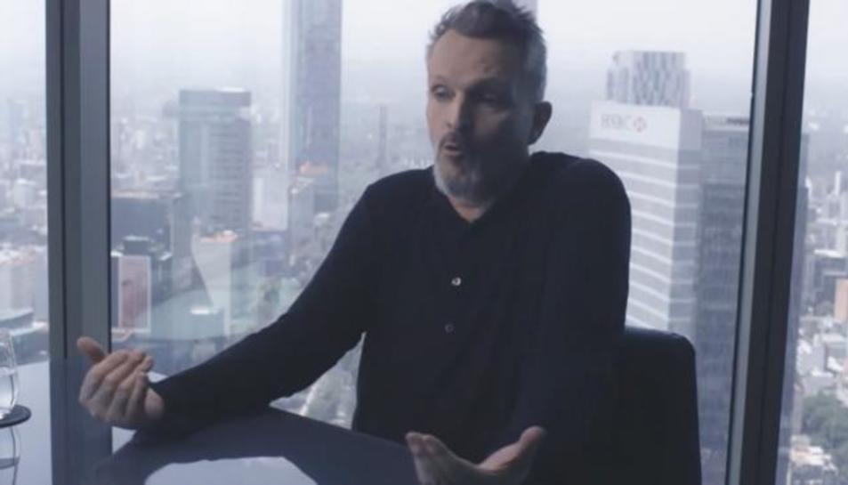 El cantant i negacionista Miguel Bosé.