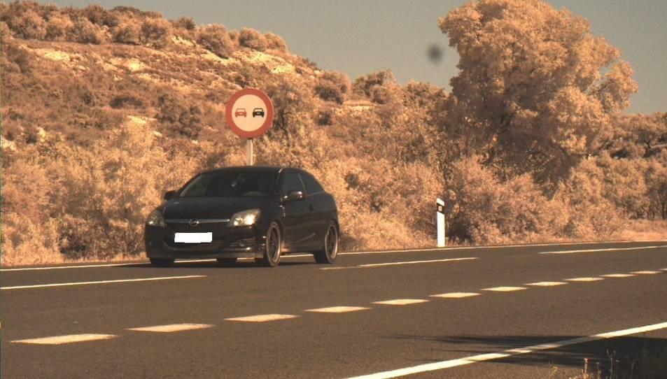 Vehicle detectat en un control dels Mossos d'Esquadra que circulava a 181 km/h per l'N-240 a les Borges Blanques.