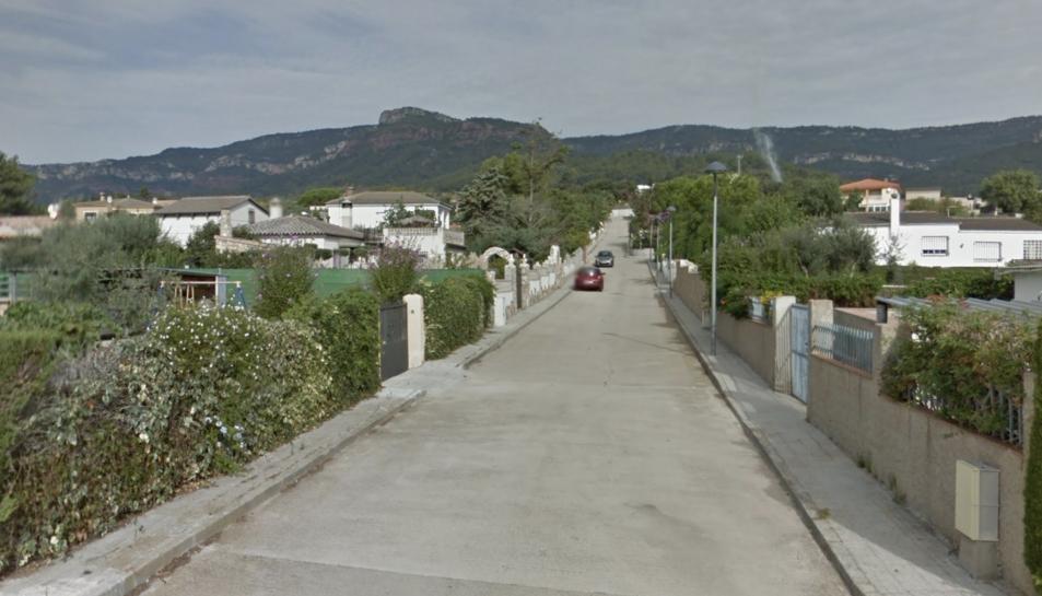 Imatge d'arxiu de la urbanització Portugal a l'Alforja.