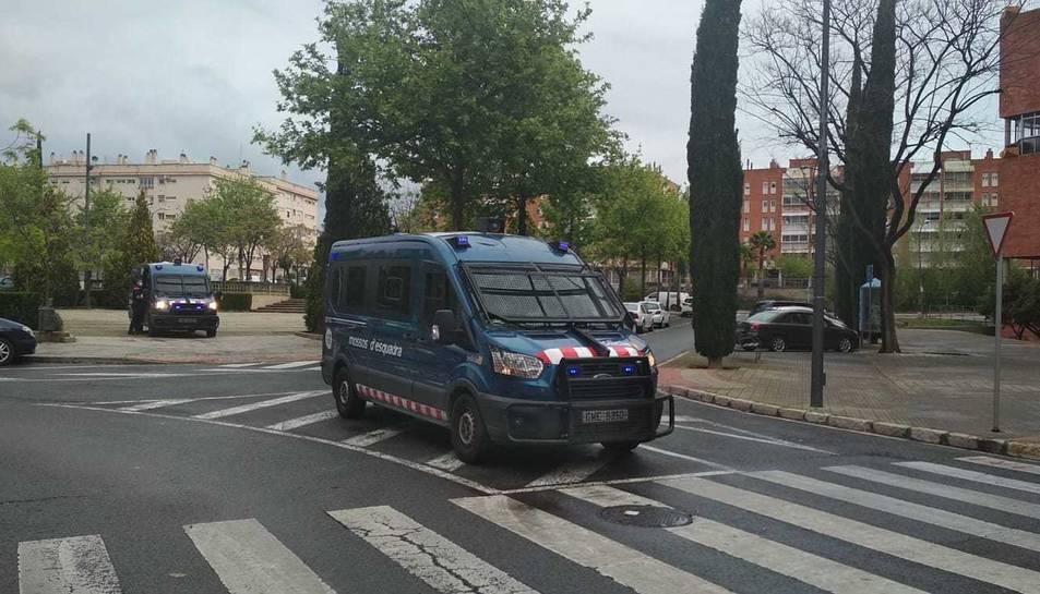 Imatge del dispositiu al barri Gaudí.