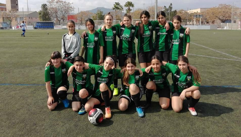 L'equip cadet femení del Racing Bonavista.