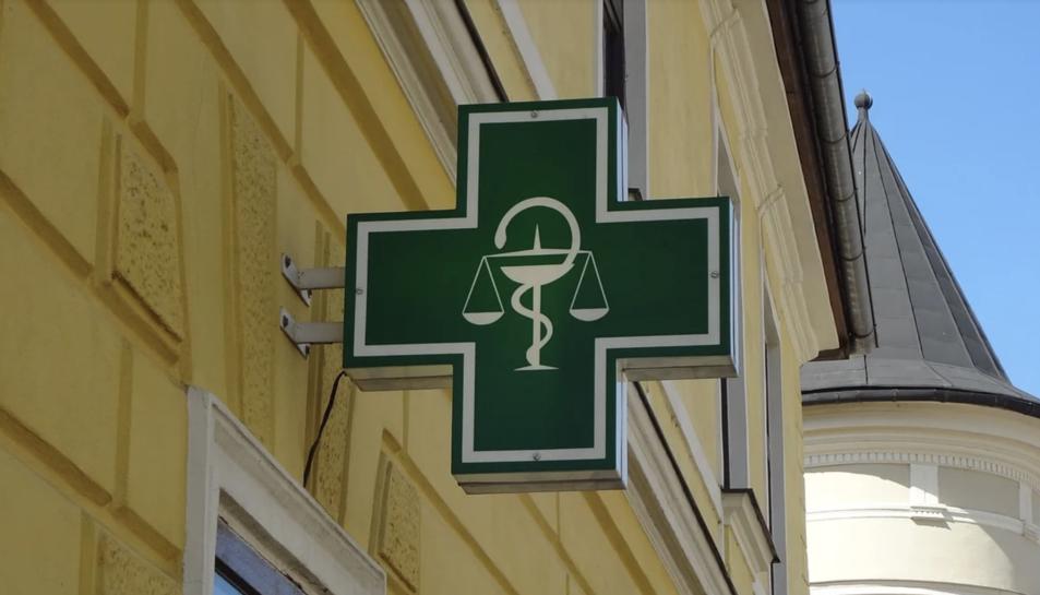 Imatge d'arxiu d'una farmàcia.