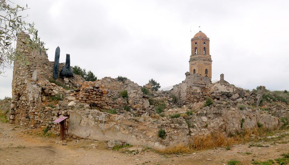 Imatge d'arxiu de Corbera d'Ebre