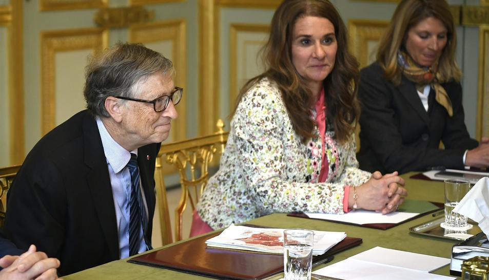 Imatge d'arxiu de Bill i Melinda Gates.