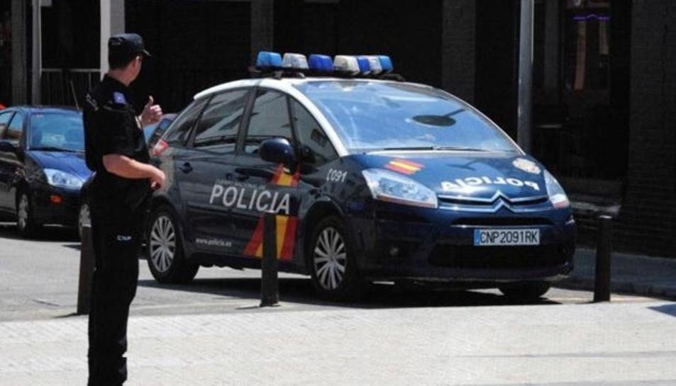 Imatge d'arxiu d'agents de la Policia Nacional.