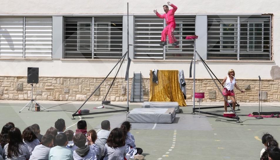 El Trapezi llega a las escuelas de Reus