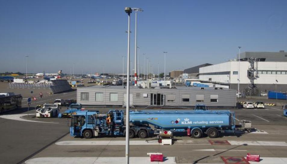 L'Aeroport d'Àmsterdam.