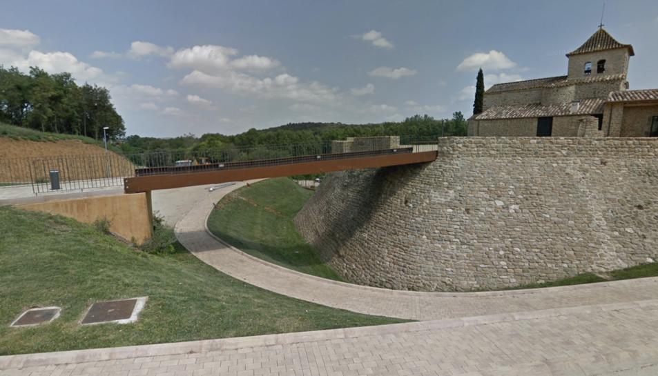 Palol de Revardit, un dels municipis que va patir els robatoris.