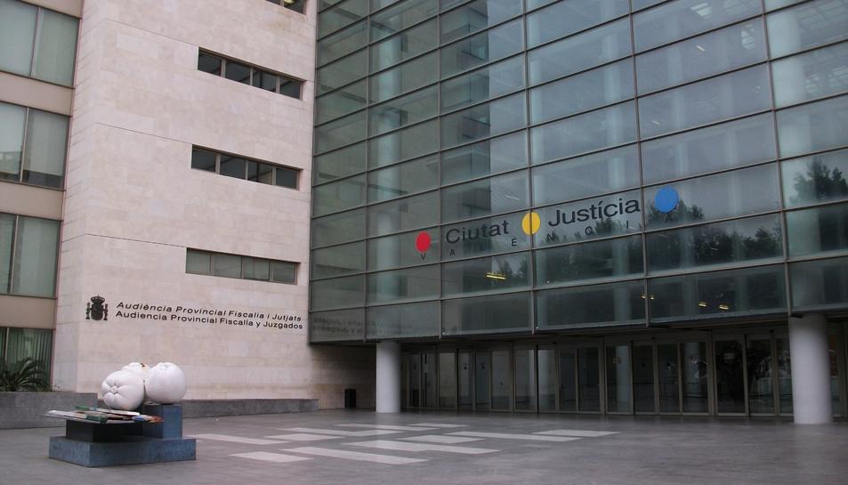 La Ciutat de la Justícia de València.