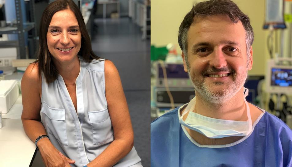 Sonia Fernández-Veledo i Xavier Avilés.