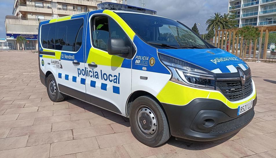 Imatge del nou vehicle.