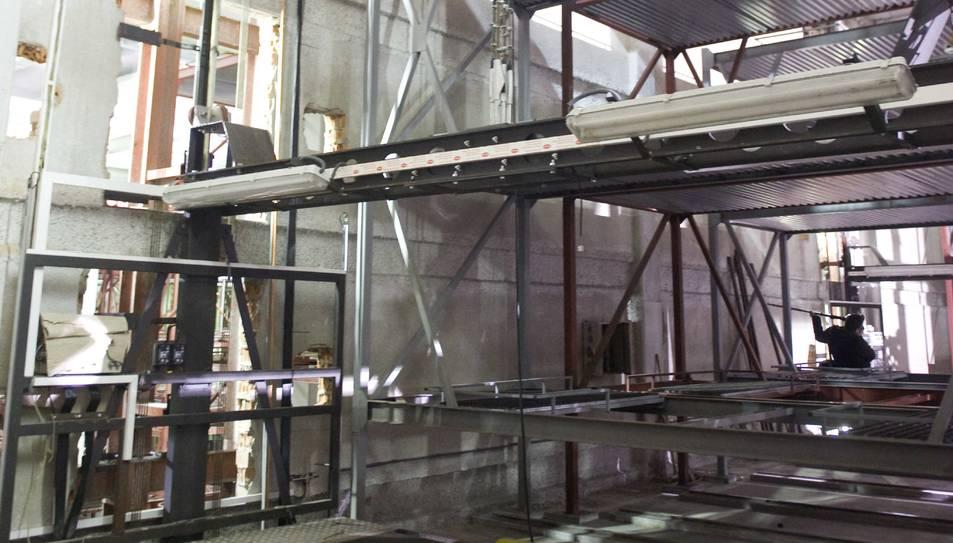Imatge d'arxiu de l'interior de l'aparcament Jaume I.