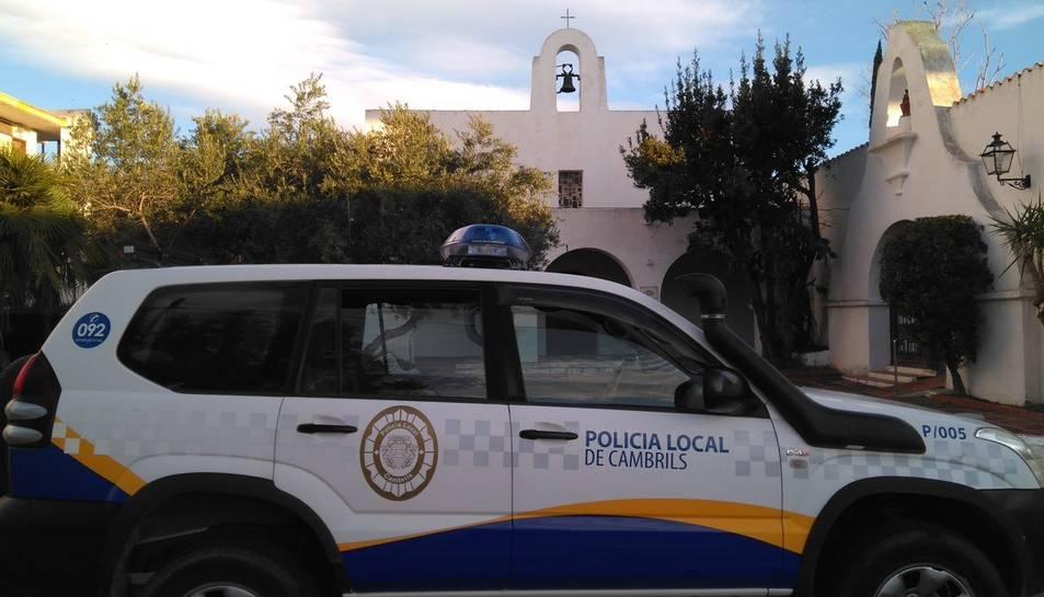 Una vehicle de la Policia Local de Cambrils.