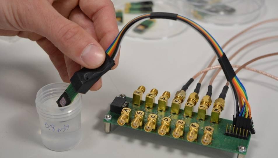 El nou dispositiu desenvolupat per KardiaTool amb la participació del CSIC.