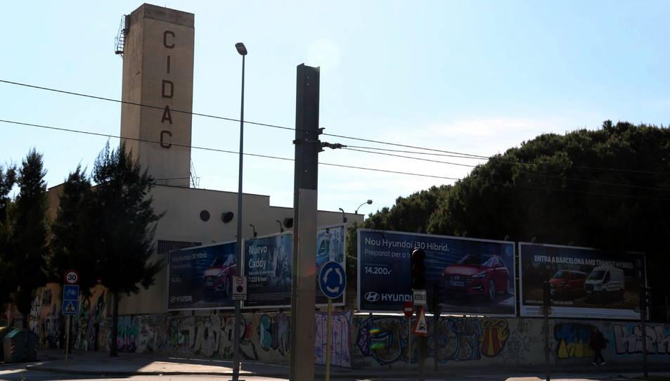Imatge exterior de l'empresa CIDAC de Cornellà de Llobregat.