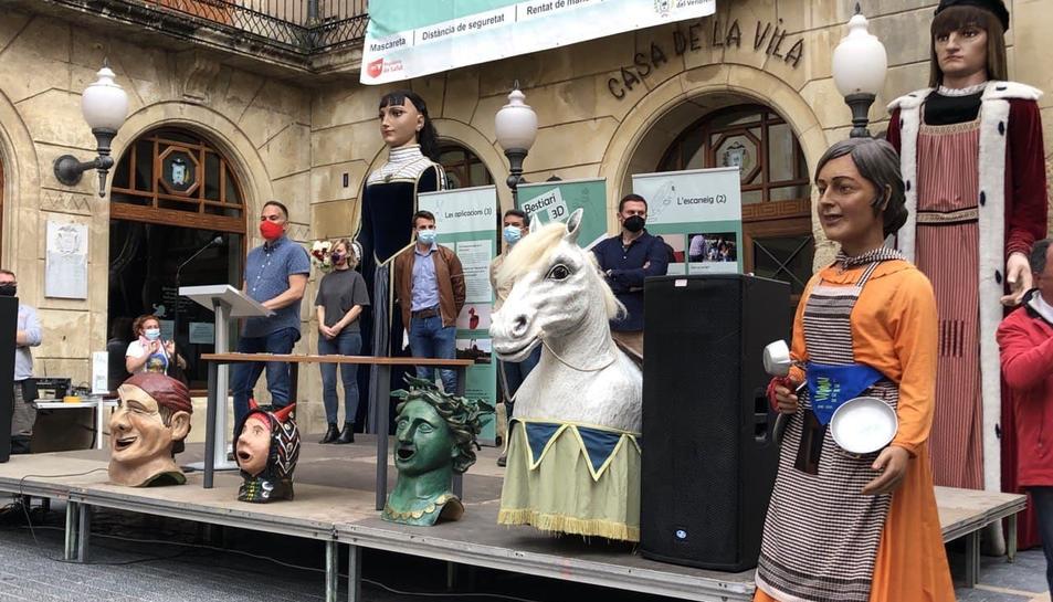 Pla general de l'acte d'acord entre l'Agrupació del Bestiari Festiu i l'Ajuntament del Vendrell.