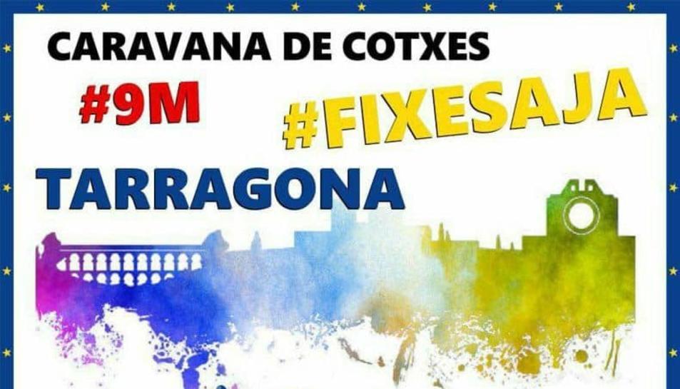 Convoquen una nova marxa lenta aquest diumenge a Tarragona per reclamar el treball fixe del personal públic