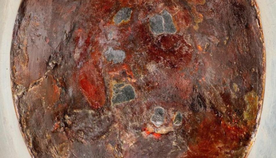 Imatge de la pedra negra de La Meca.