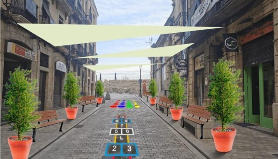 Fer el carrer Cós del Bou per a les famílies és un dels projectes.