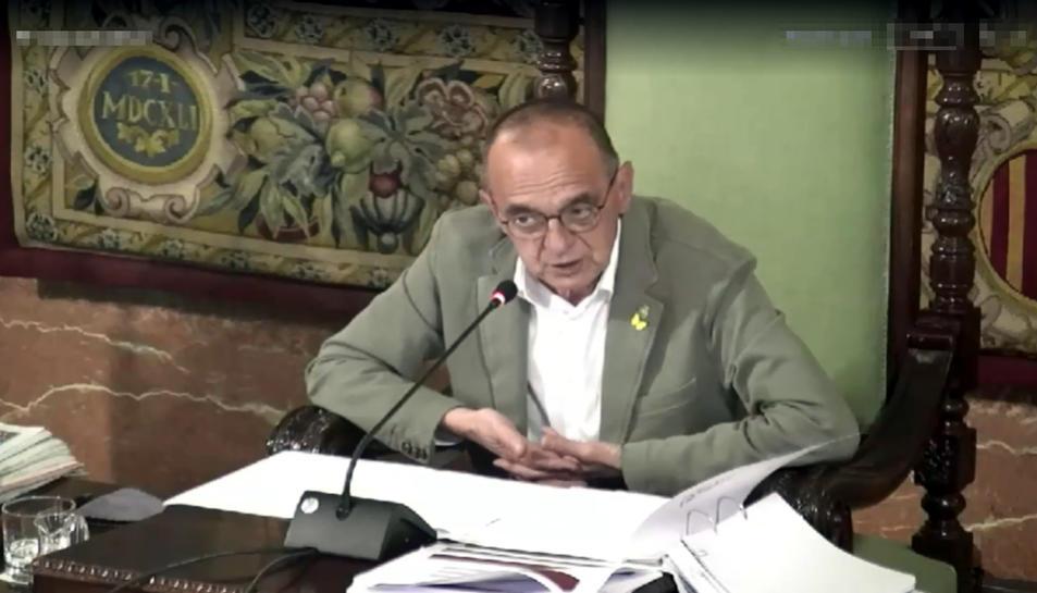 Imatge d'arxiu de l'alcalde de Lleida, Miquel Pueyo.