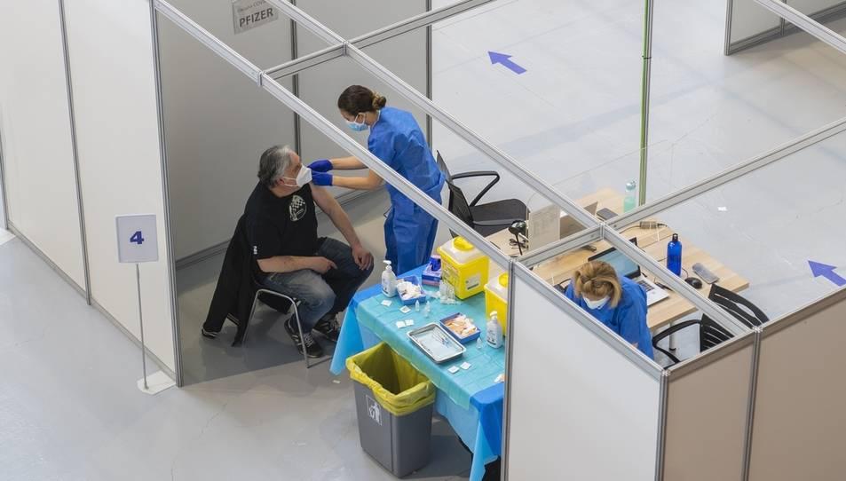 Es va estrenar com a punt de vacunació el 30 d'abril amb 4.000 dosis en dos dies