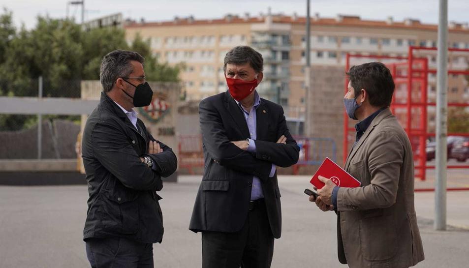 Jordi Virgili, Josep Maria Andreu i Lluís Fàbregas.