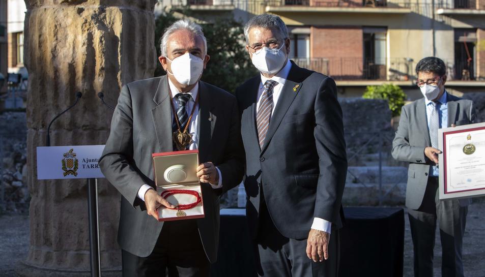 El seu president, Raul Font, ha estat l'encarregat de rebre la distinció.