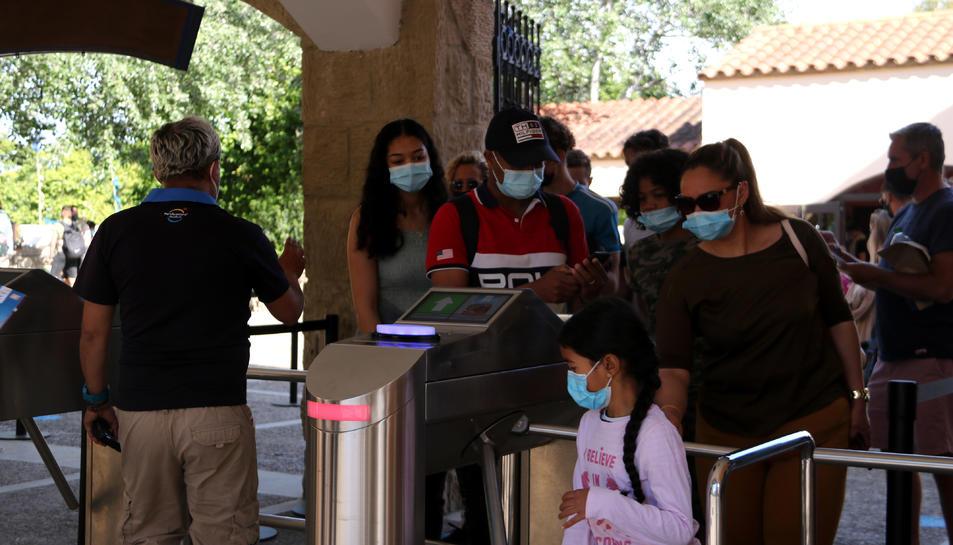 El Parc temàtic de PortAventura torna a obrir les seves portes aquest dissabte 15 de maig després de mesos de tancament per les restriccions derivades de la pandèmia.