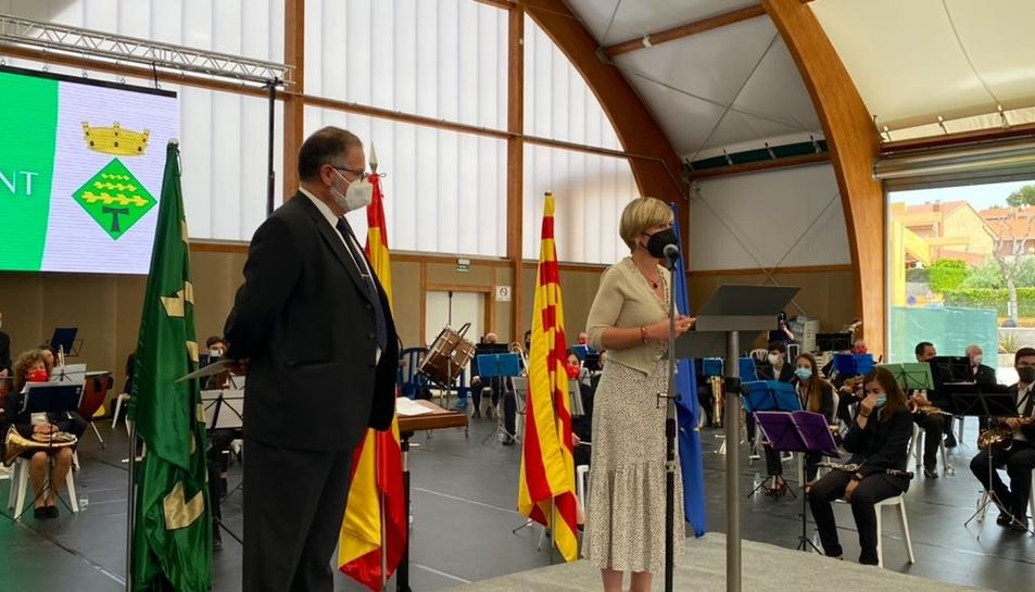 La Diputació inaugura una nova sala polivalentals Pallaresos