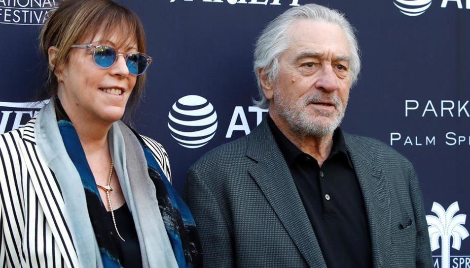 Imatge del passat 3 de gener de Jane Rosenthal i Robert De Niro.