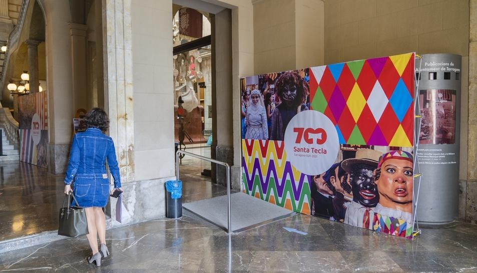 Tarragona celebra simbòlicament els 700 anys de l'arribada del braç
