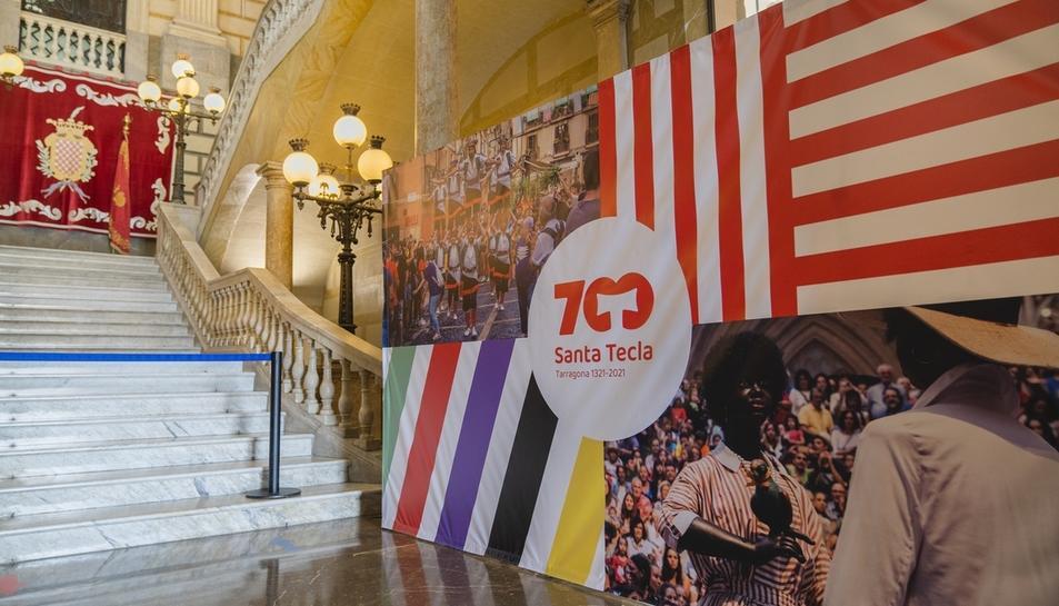 Tarragona celebra simbólicamente los 700 años de la llegada del brazo
