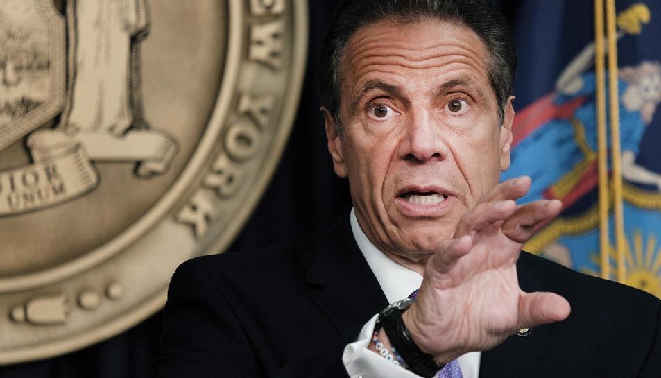Andrew Cuomo, governador de Nova York.