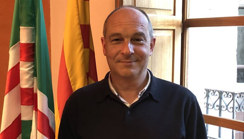 Foto de l'alcalde Joan Morlà Mensa.