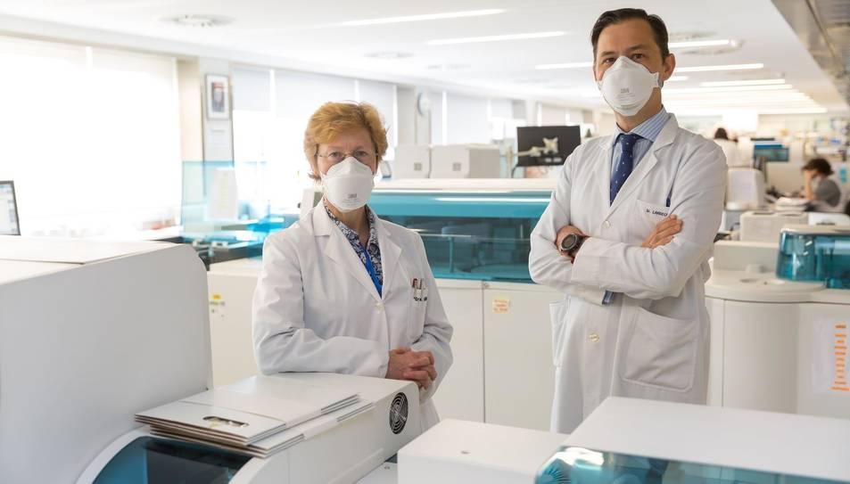 Imatge dels autors de l'estudi facilitada per la Clínica Universidad de Navarra.