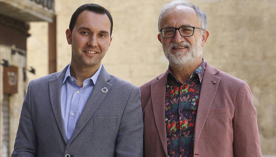 Daniel Rubio i Josep Maria Pujol.