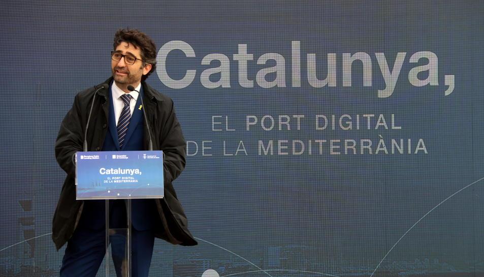 El conseller de Polítiques Digitals, Jordi Puigneró, en una imatge d'arxiu.