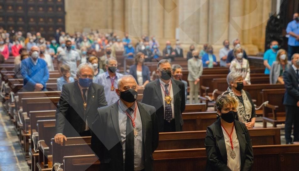 La tradicional missa del Corpus Christi Tarragona 2021