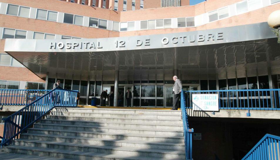 L'Hospital 12 de Octubre de Madrid.