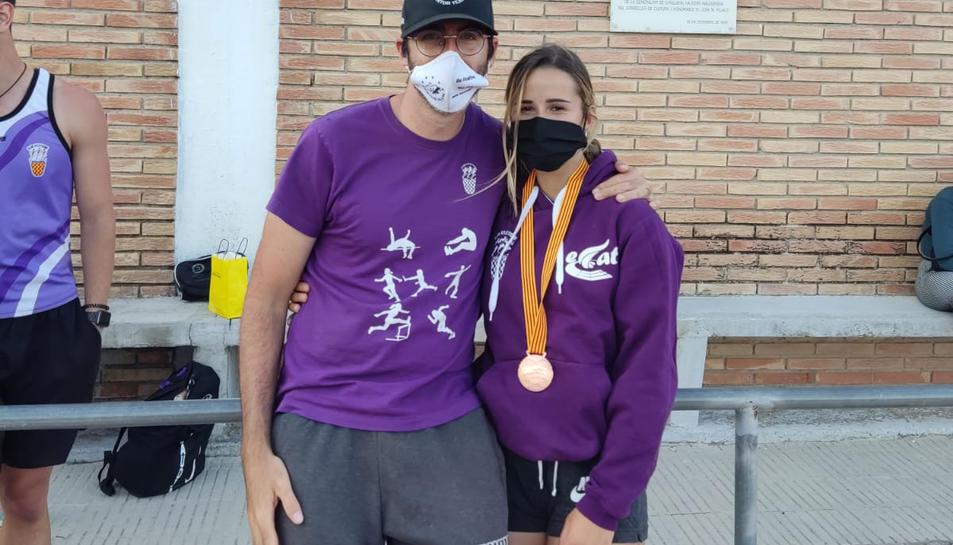 Ferran Tortosa amb Andrea Trapé.