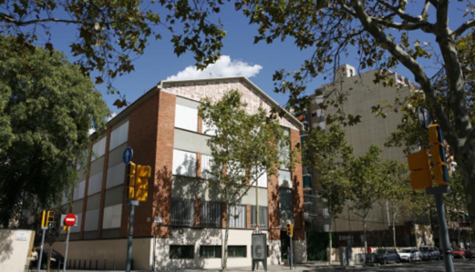 Imatge d'arxiu de l'escola Manyanet de Sant Andreu.